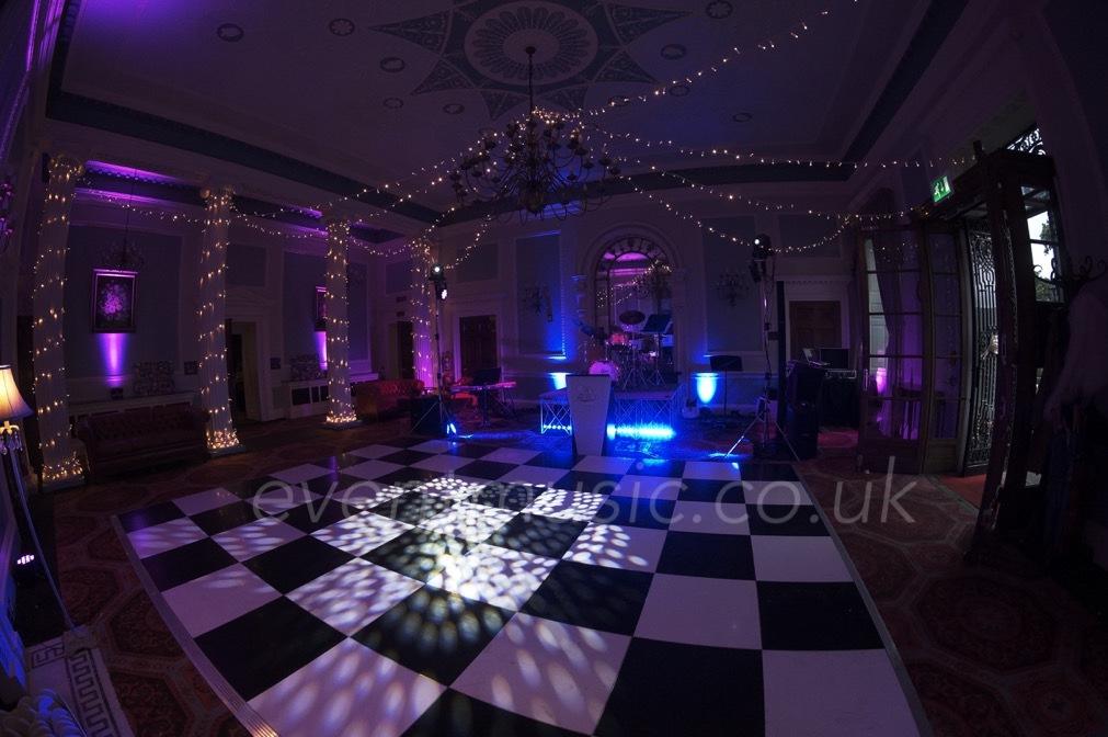 Dancefloor & Fairy Lights - Denton Hall